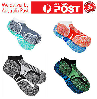 10 Pairs New Bonds Mens Sports Assorted Ultimate Comfort Low Cut Running Socks