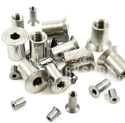 A2 Stainless Steel Hexagon Socket Countersunk Csk Head Sleeve Nuts Nut