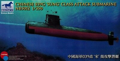 Bronco Models - NB 5012 Chinese 039G Sung Class Attack Submarine - 1:350