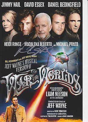 David Essex HAND Signed 12x8 Photo, Autograph, The War of the Worlds