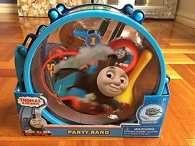 Thomas&Friends Party Band 10pcs Drum Set Musical Instrument Kit Pretend Play Toy