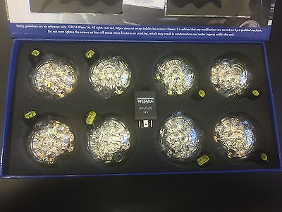 Wipac Land Rover Defender 73mm LED Light Upgrade Kit CLEAR - S6067LED / DA1191