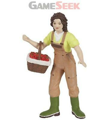 Papo Farmer With Basket Toy Figure - Action Figures/figures Brand New