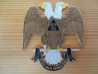 Masonic Auto Car Badge Emblems mason E35 Ancient & Accepted Scottish Rite 3D 3''