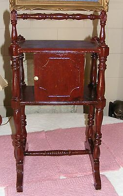 Antique Tobacco Wood Cabinet/stand