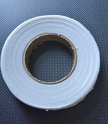 2 Rolls White Florist Tape Ideal For Stem Wrapping Flower Bouquets, Buttonholes