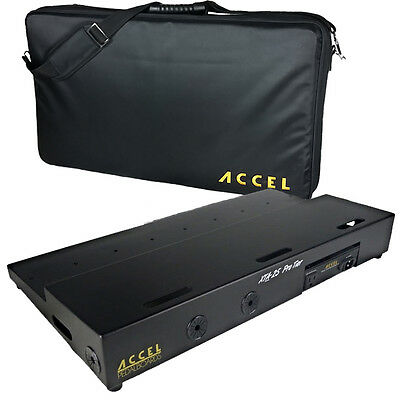 Guitar Effects Pedalboard, Riser & Tote,  Accel  XTA25 Pro Tier