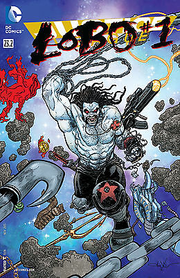 Justice League #23.2 Lobo Regular Cover New 52
