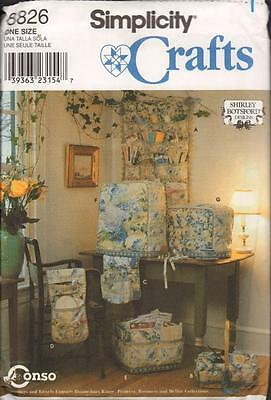 Simplicity Crafts Sewing Pattern Shirley Botsford 8826 Sewing Accessories