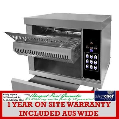 Fed Commercial Electric Tunnel Toaster Griller Grill Restaurant Hotel Cvt-02