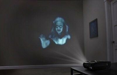 halloween Ghostly Apparitions Digital Decorations Use TV projector or monitor