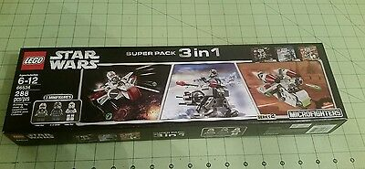 Lego Star Wars Super Pack 3 In 1 Series 2 Microfighters   New