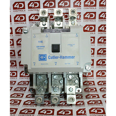 Cutler-Hammer CE15PN3K 600V 140A. 240V COIL. - New Surplus Open