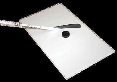 "Simulated Ice Board 28"" X 52"" Hockey Stick Handling Ice Surface Synthetic 28 52"