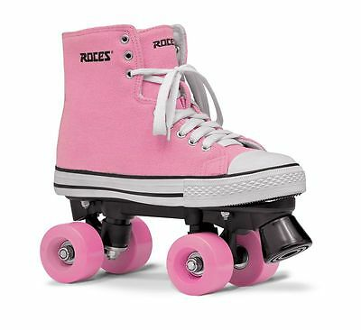 Roces Chuck Classic Roller Skates - Pink - UK 4