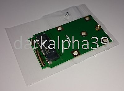 M2 NGFF In to mSATA Mini PCI-E Out Adapter Converter Card