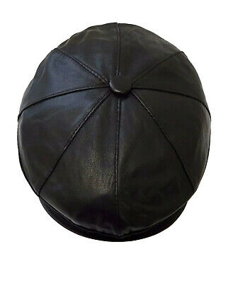 New100/% Real Leather Flat Cap Stylish Top Quality For Man,woman/&Children