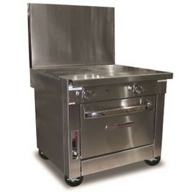 Southbend P36C-FF Heavy Duty Gas Range W/ French Hot Tops