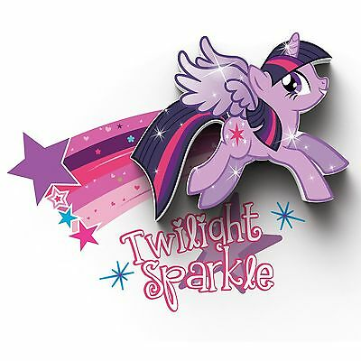 My Little Pony Mini 3D Led Wall Light Twilight Sparkle Kids Bedroom Bedding New