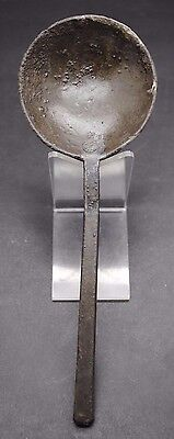 Superb Tudor Period Pewter Spoon With Makers Mark 16Th Century Ad