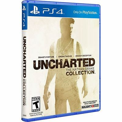 Uncharted The Nathan Drake Collection - PS4 Game - BRAND NEW SEALED