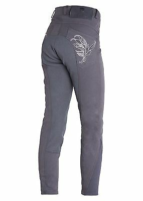 Montar Children Breeches Full Seat Grey