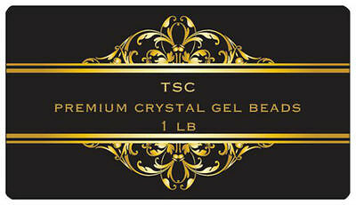 TSC Premium Humidification Clear Crystal Gel Beads 1lb For Humidor & Humidifiers
