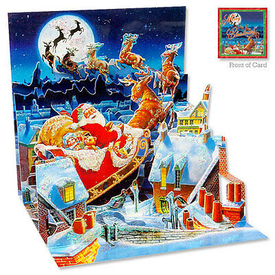 Up With Paper - SANTA'S SLEIGH RIDE - Christmas - #UP-WP-C-180