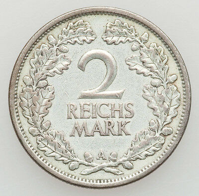 1926-A Germany Silver 2 Mark