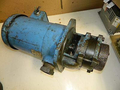 Gusher Multi Stage Coolant Pump, 1 HP, MSD4-1-100FJ, 3 Ph, 230/460 V, Used