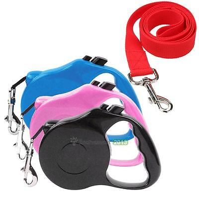 5m Pet Dog Cat Puppy Good Automatic Retractable Traction Rope Walking Lead Leash