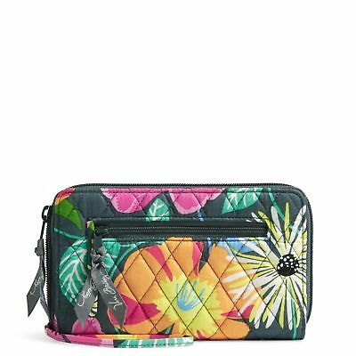 Vera Bradley Factory Exclusive Zip-Around Wallet