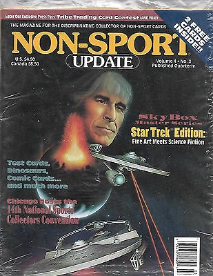 Non Sport Update-Volume 4 No 3- 1993 Star Trek Edition Sealed Mint Cards Intact