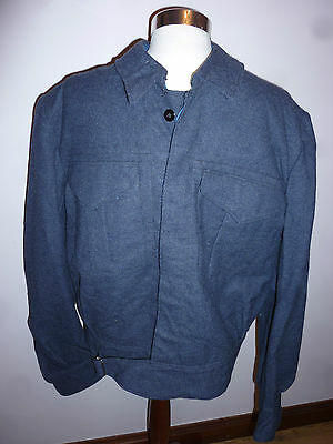 Ww11 Rcaf  Serge Aircrew Blouse T.eaton Co. Size 15 Vintage Dated 1942 Unissued
