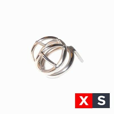 The Nano XS Extra Small Tiny Male Chastity Cage Stainless Steel
