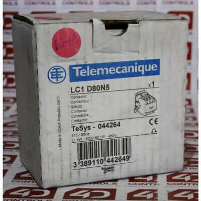Telemecanique LC1 D80N5 LC1 3 Pole Contactor - New Surplus Open