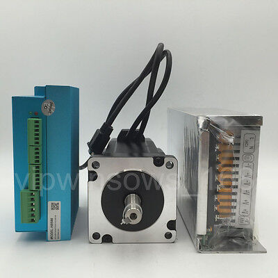 Nema24 Easy Servo Kit 3Nm Hybrid Closed Loop Stepper Motor&600W Power Supply