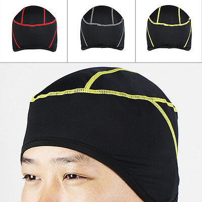 Durable Cycling Bicycle Beanie Cap Outdoor Sport Riding Running Hat Free Size MN