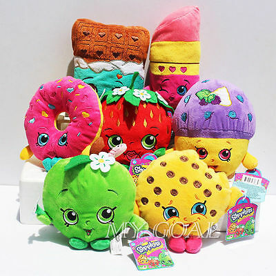 Shopkins Store Family Soft Plush Toy Stuffed Doll Christmas Party Favours Gift