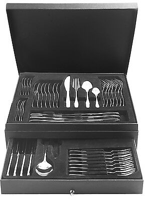 Viners Tabac 58 Piece Stainless Steel Cutlery Canteen Set Serving for 8