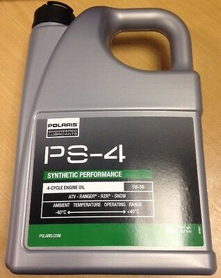 Polaris PS4 Engine Oil - 4  Litre Bottle - 502120