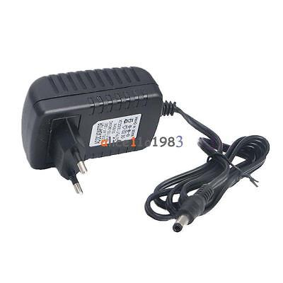 EU/US Plug AC 100-240V to DC12V 9V 5V 1A 2A Power Supply Converter LED Light