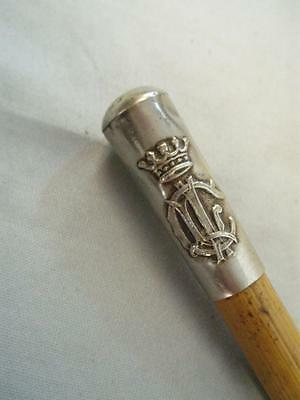 """Vintage Military """"c.l.i. Swagger Stick Cane."""