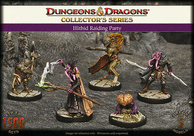 Dungeons and Dragons - Collector's Series - Illithid Raiding Party (5)