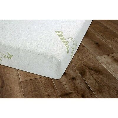 Double & King Size Hypoallergenic Memory Foam  Reflex Mattress inc Bamboo Fabric