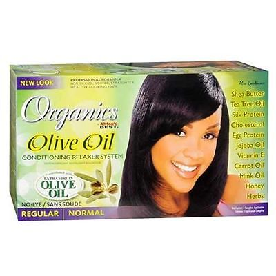 Africa's Best Organics Olive Oil Relaxer Regular Fast & Free Delivery