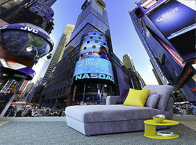 City New York Buildings Colours City Photo Wallpaper Wall Mural GIANT WALL DECOR