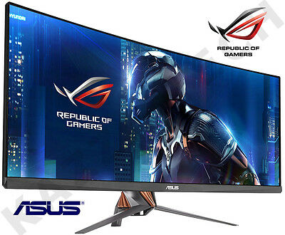 "ASUS 34"" ROG Swift PG348Q Curved QHD IPS LED Widescreen Armor Titanium Monitor"