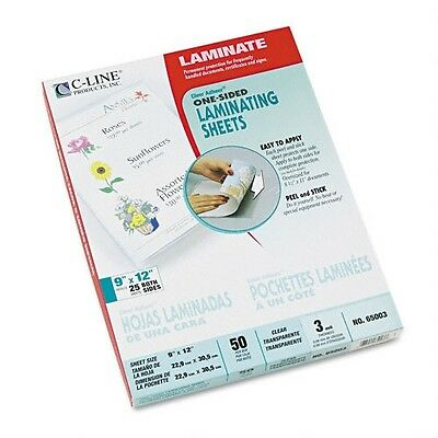 C-Line Clear Adhere Cut-to-Size Laminating Film - 65003
