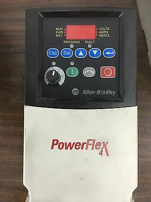 Allen Bradley Powerflex AC drive 2 HP 3 phase 221-A8PON114, A8PON104 available